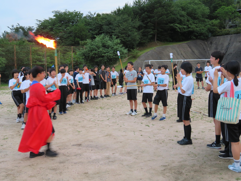 中学2年生野外活動