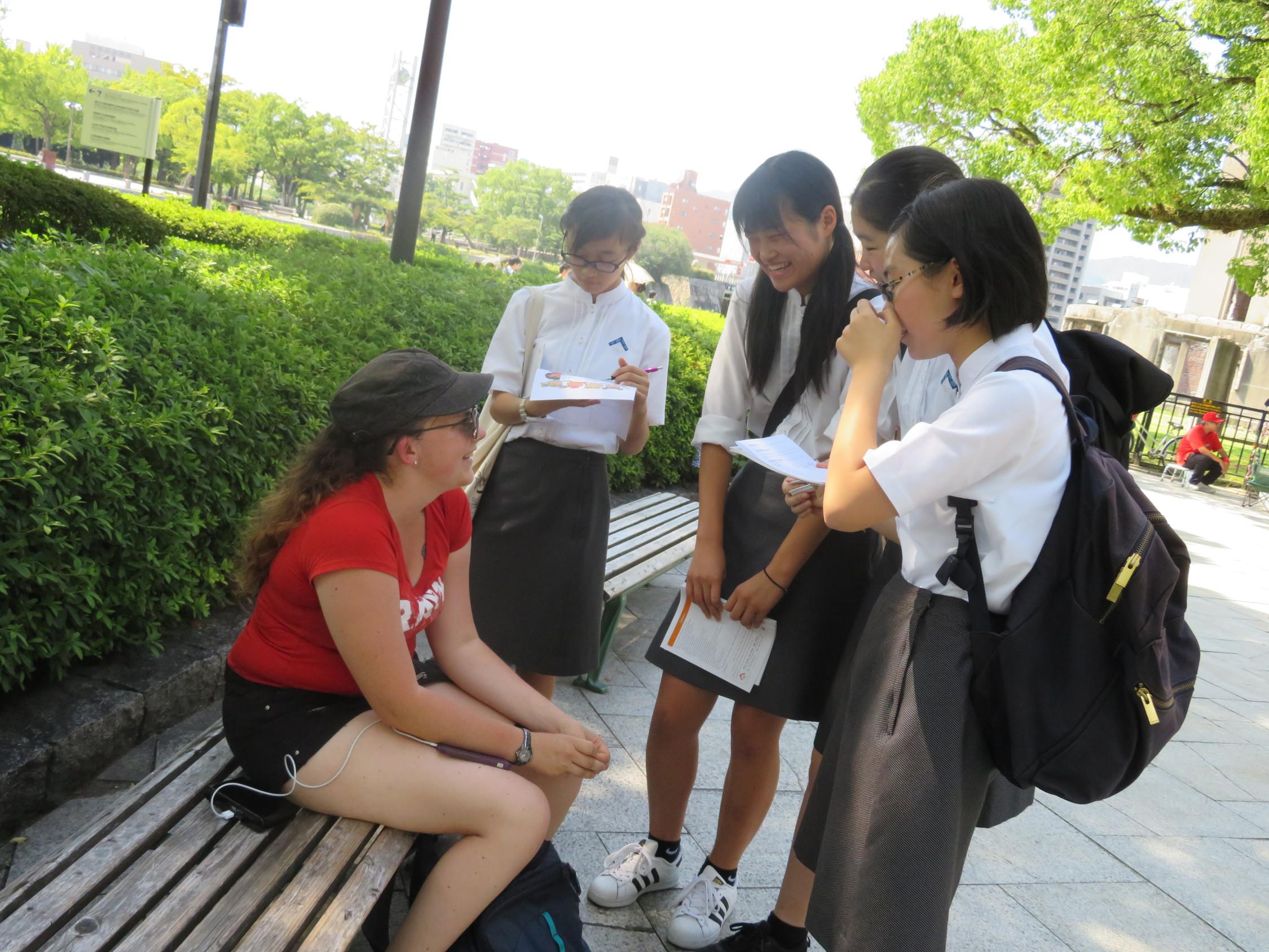 Junior High School Peace Campaign ~Part3~