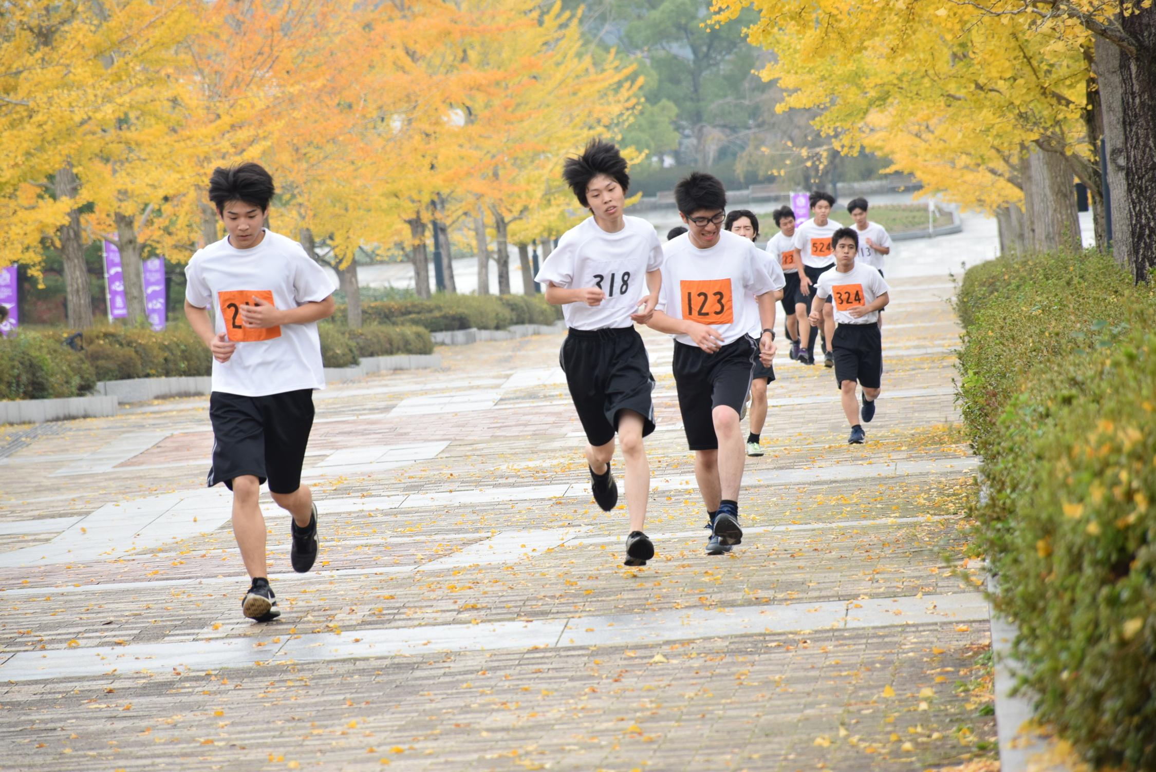 マラソン大会が開催されました!