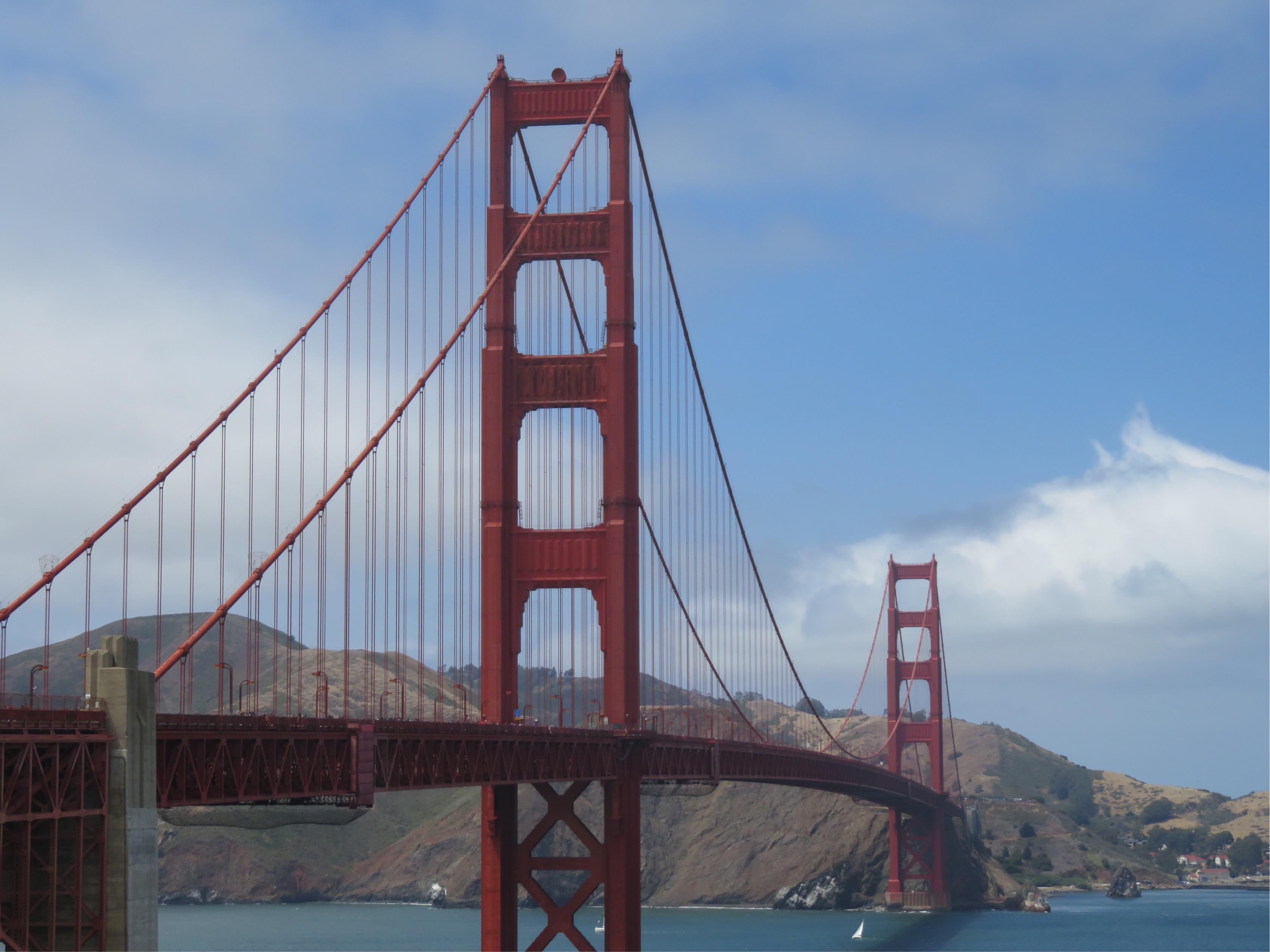 G11修学旅行 アメリカ西海岸 ゴールデンゲートブリッジ
