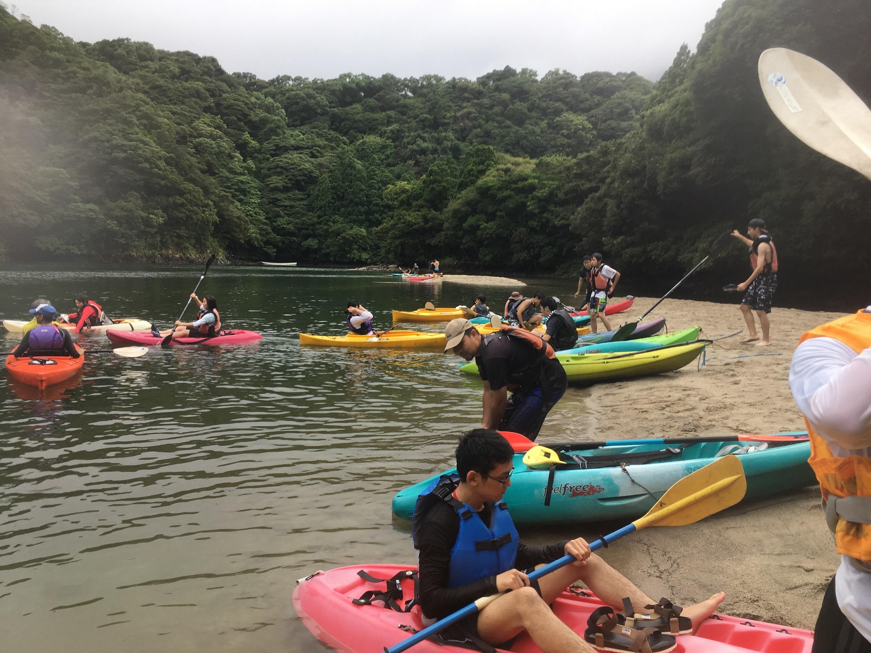 高2修学旅行(屋久島)は3日目の朝を迎えました