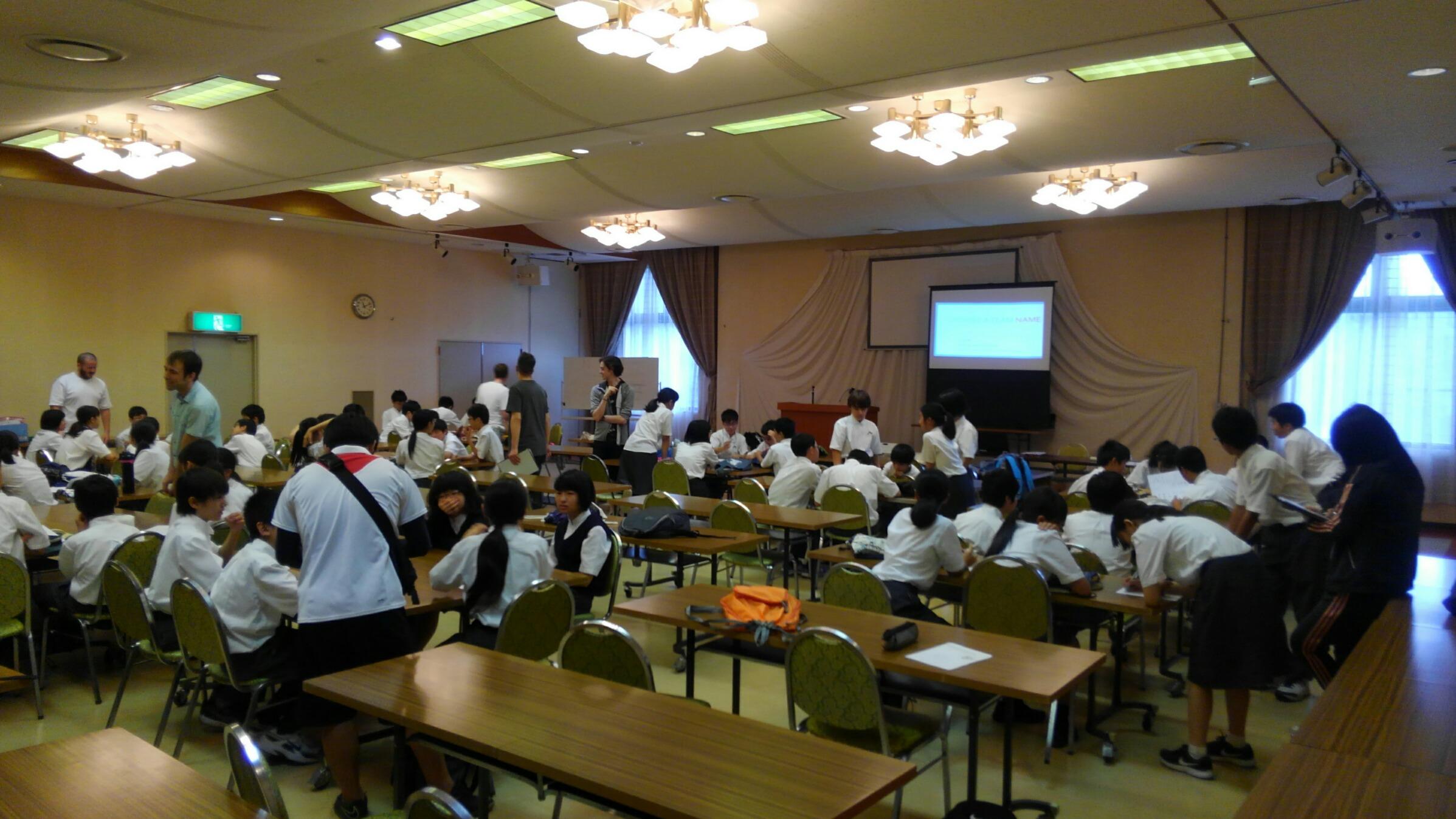 中1English Camp