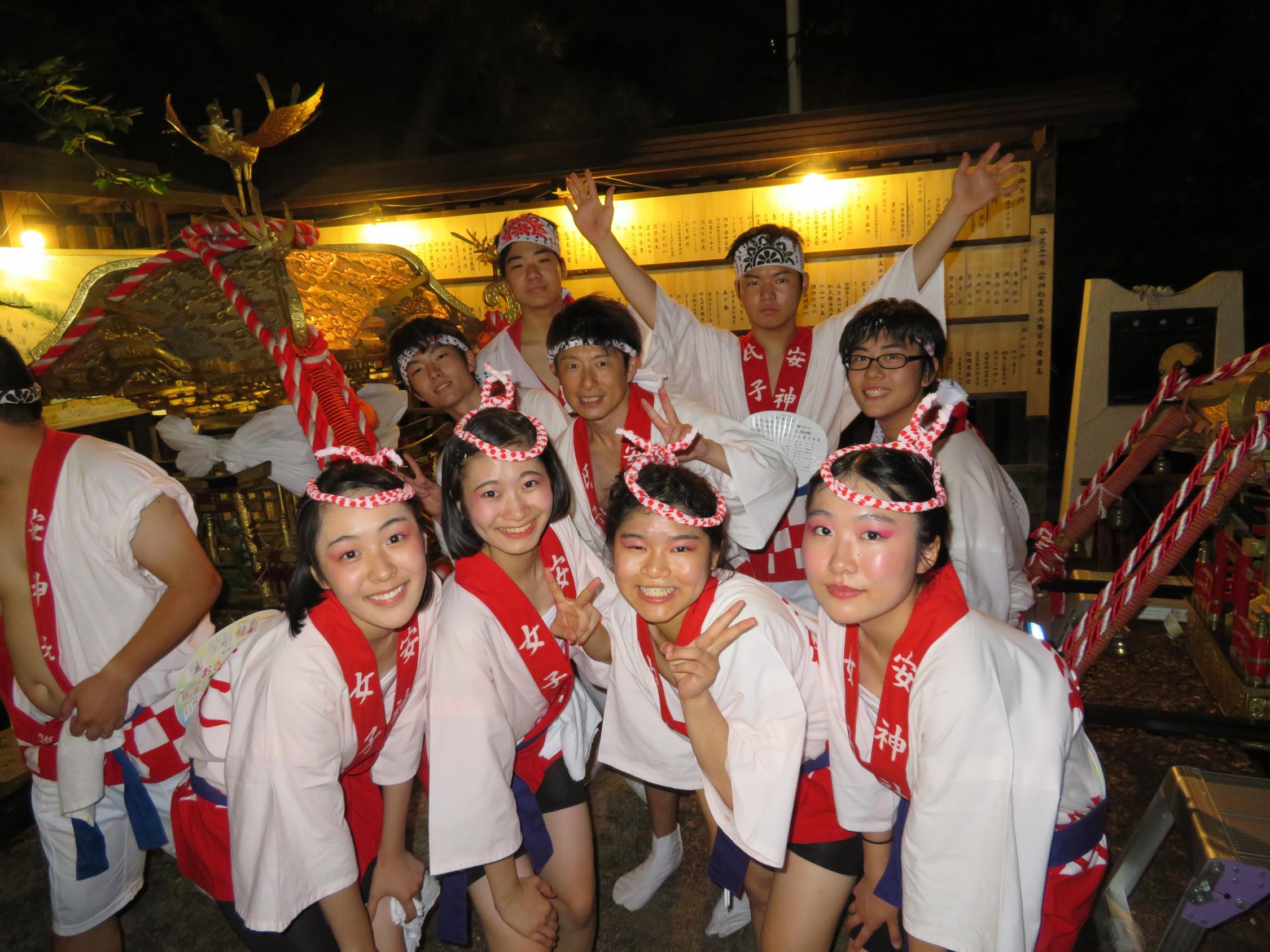 安神社 夏季大祭 おぎおんさん