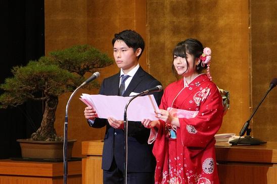 広島市成人式の新成人代表2名はAICJ卒業生